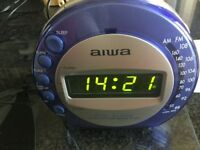 Aiwa digital alarm clock/radio brand new boxed