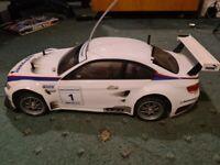 Tamiya BMW radio controlled car