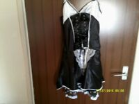 ann summers french maids outfit size 12