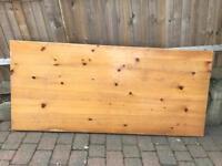 Solid pine table top 200cm x 90cm x 4cm