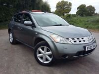 **Nissan Murano 3.5 V6, 4 x 4 5dr low mileage!!**