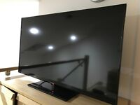 Slim full HD 1080p 50 inch TV with remote