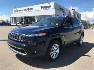 2014 Jeep Cherokee Limited- LEATHER HEATED & VENTED SEATS