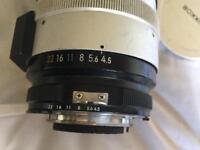 Nikon h auto 300mm f4.5