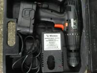 Wickes cordless screwdriver great condition cheap