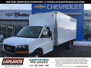 2016 GMC Savana 16 Ft Cube Van