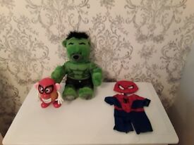 Hulk & Spiderman TOYS *** Like New ***