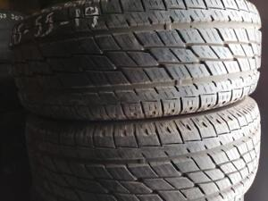 2 summer tires toyo open country 245/55r19 tt