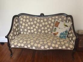Antique love seat / sofa