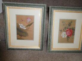 2 Silk Prints