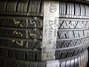 1 summer tire Continental 235/55r19. SPECIAL ALLOYZ!