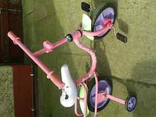 Bike Minnie mouse