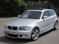 2007 (07 reg), BMW 1 Series 2.0 120i M Sport 5dr, Full BMW Service History