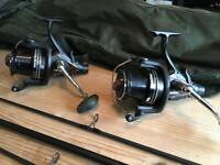 Carps rods and reels