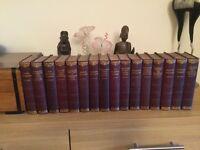 16 Dickens volumes.