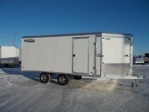 2017 High Country HES 101X14 Enclosed Snowmobile Trailer