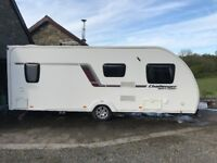 2014 Swift Challenger Sport 554 Fixed Double Bed 4 Berth End Bathroom w/ Mover