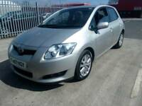 2007 Toyota Auris 2.0 D4D T Sprit 6 Speed Brilliant drives service history full hpi clear