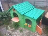 Kids playhouse - ketter plastic wendyhouse