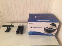 PSVR headset, brand new, unopened, 2 move controllers, PS4 camera