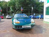 PORSCHE BOXSTER S 3.2 - JUST REDUCED!! (green) 2002