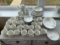 Royal Doulton Minerva 55 piece tea/ dinner set