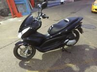 honda pcx 125cc mot logbook,keys ,service history very good condition