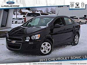 2013 Chevrolet Sonic **LS*5 VITESSES *BLUETOOTH*HITCH**