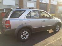 2005 Kia Sorento 2.5 crdi 4x4 12 months mot/3months parts and labour warranty