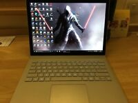 Surface Book i7, 16GB RAM, 512GB SSD, NVIDEA GeForce graphics with 9GB RAM