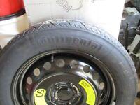 kia sportage 17 inch spare wheel