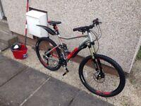 Brand new vodoo canzo mountain bike