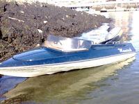 simms 60hp speedboat