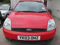 FORD FIESTA 1.4 TDCi Finesse 5dr (red) 2003