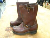 Dayton's Size 9D Engineer Boots. Brown, New
