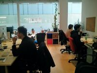 Desk Space in Creative Shared Studio