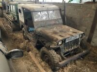 willys jeep any condition