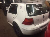 Volkswagen Golf Mk4 Car Trailer Purple White Alloy Wheels Lovely Looking Thing Bargain