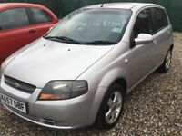 CHEVROLET KALOS 1.4cc 5door @ Aylsham Road affordable cars