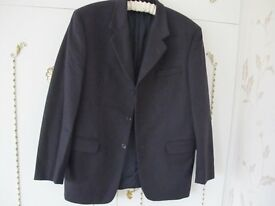 Mens Wool & Cashmere Navy Jacket