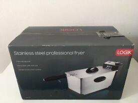 Logik Stainless steel professional fryer New