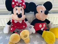 Mickey & Minnie from the Disney store £10 the pair