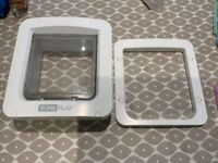 Sure flap large cat/small dog door (microchip)