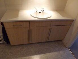 Storage cupboards/cabinets - kitchen, bathroom, utility, workshop