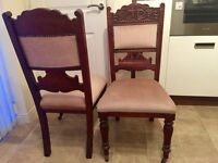 Pair of Antique Chairs for sale