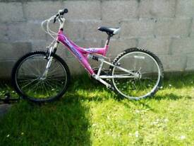 Mountain bike pink ideal for small adult