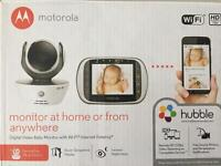 Motorola MBP85 Connect Wi-Fi HD Video Baby Camera