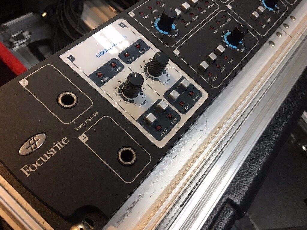 Focusrite Liquid Saffire 56 Audio Interface - £399