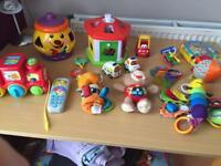Bargain ! Great bundle of interactive toys for baby