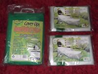 Patio Set Cover & Lounger Covers x2 - NEW.